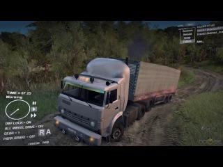 Spin Tires - Russian Truck Simulator (Kamaz 54115)